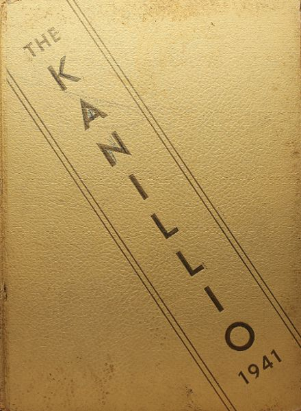 1941 Kansas High School Yearbook Cover