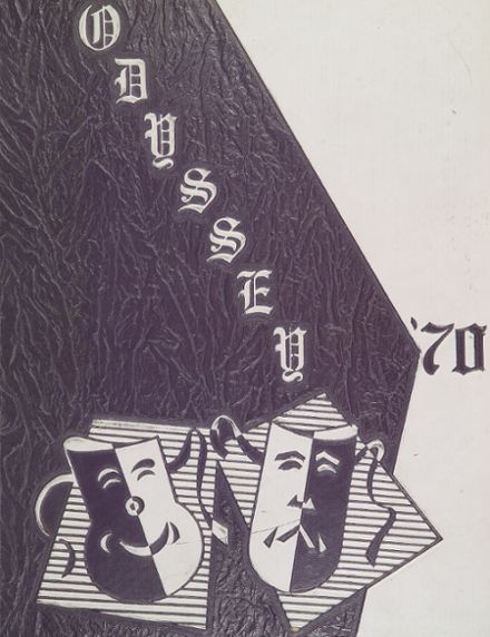 1970 Parkville High School Yearbook Cover