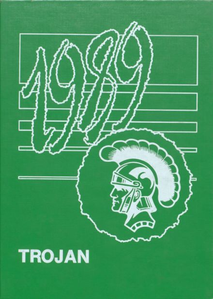 1989 Madison High School Yearbook Cover