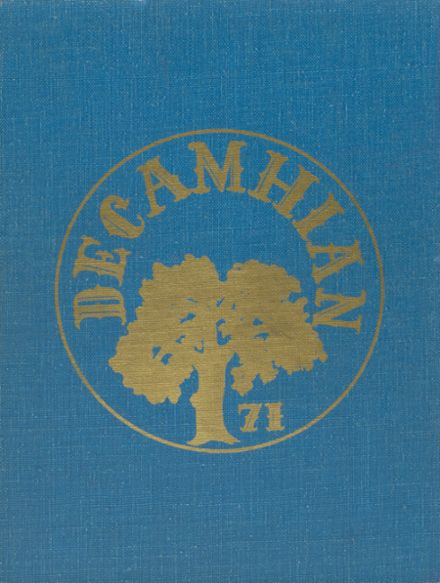 1971 Del Campo High School Yearbook Cover