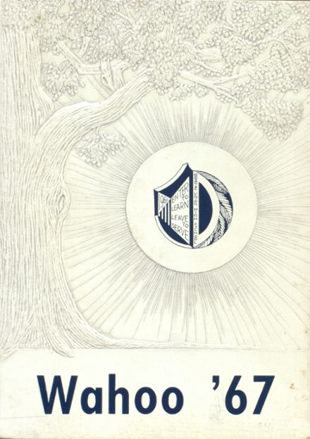 1967 Dowagiac Union High School Yearbook Cover