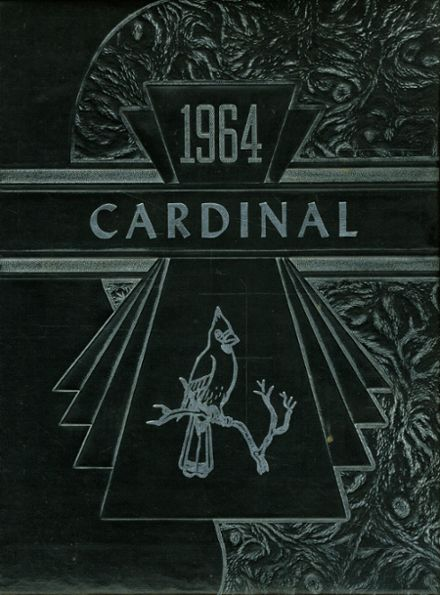 1964 Metz High School Yearbook Cover