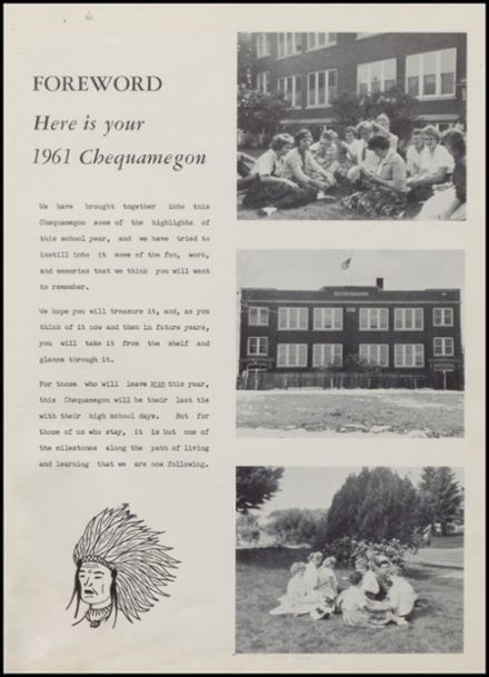 1961 Rib Lake High School Yearbook Page 5