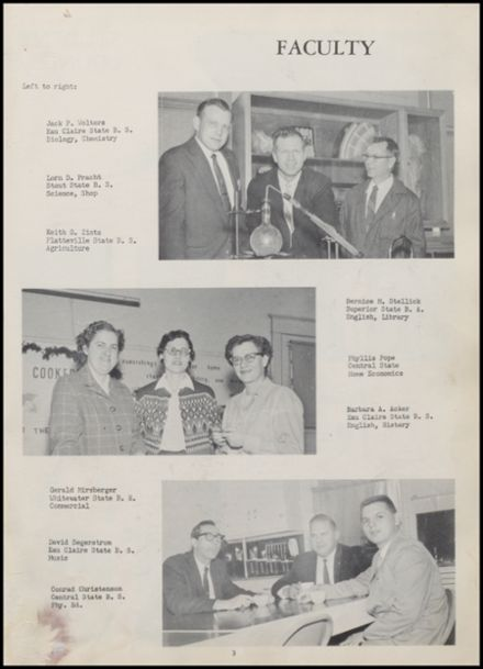 1961 Rib Lake High School Yearbook Page 7