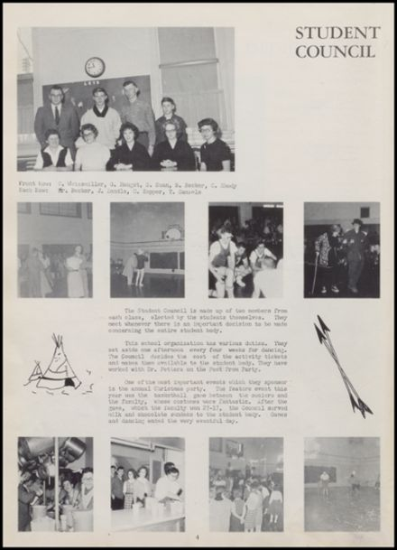 1961 Rib Lake High School Yearbook Page 8