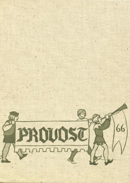 1966 Provo High School Yearbook Cover