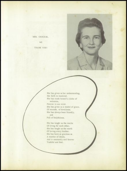 1960 Pineland High School Yearbook Page 7