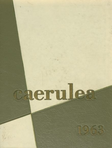 1963 Long Beach Polytechnic High School Yearbook Cover