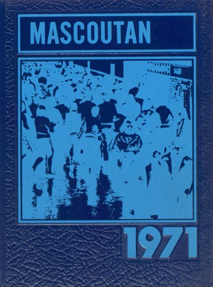 1971 Mascoutah High School Yearbook Cover