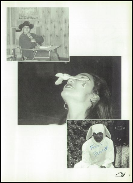 1996 Pleasanton High School Yearbook Page 9