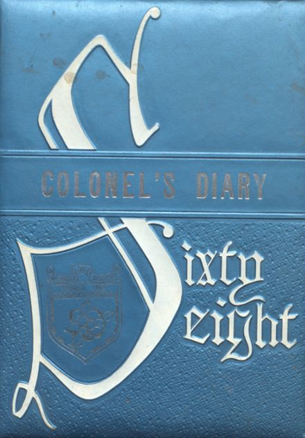 1968 Indianola Academy Yearbook Cover