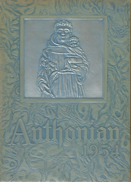 1954 St. Anthony High School Yearbook Cover
