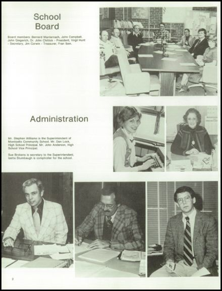 1979 Monticello High School Yearbook Page 6