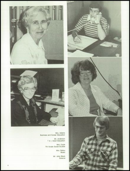 1979 Monticello High School Yearbook Page 8