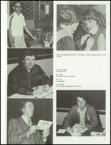1979 Monticello High School Yearbook Page 9