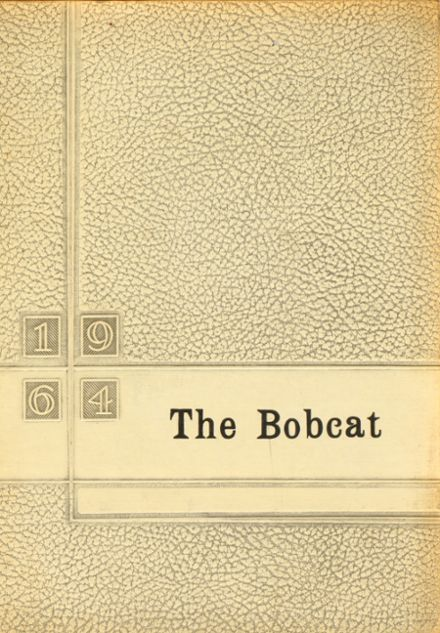 1964 Grand Community High School Yearbook Cover