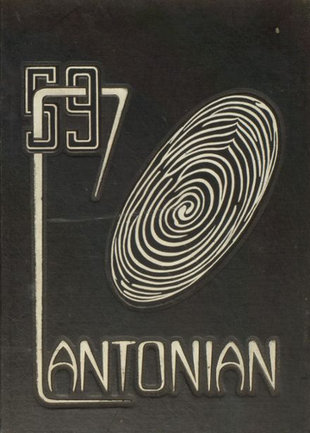 1959 Canton High School Yearbook Cover