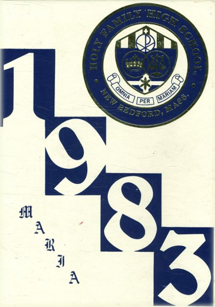 1983 Holy Family High School Yearbook Cover