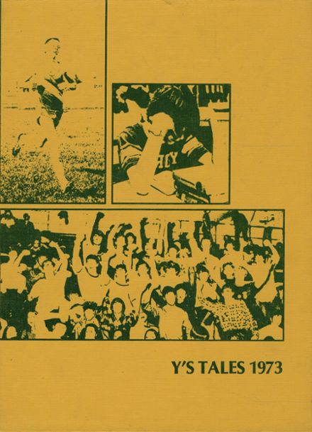 1973 York Community High School Yearbook Cover