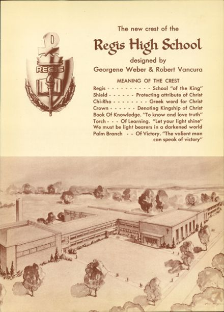 Explore 1953 Regis High School Yearbook, Eau Claire WI