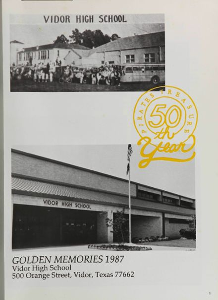 1987 Vidor High School Yearbook Page 5