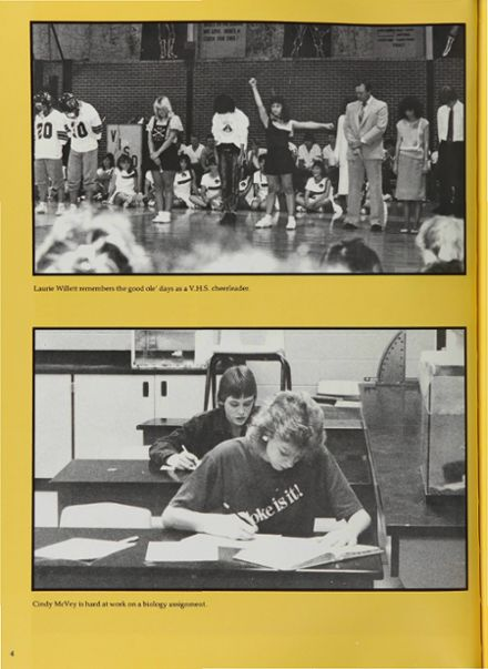 1987 Vidor High School Yearbook Page 8