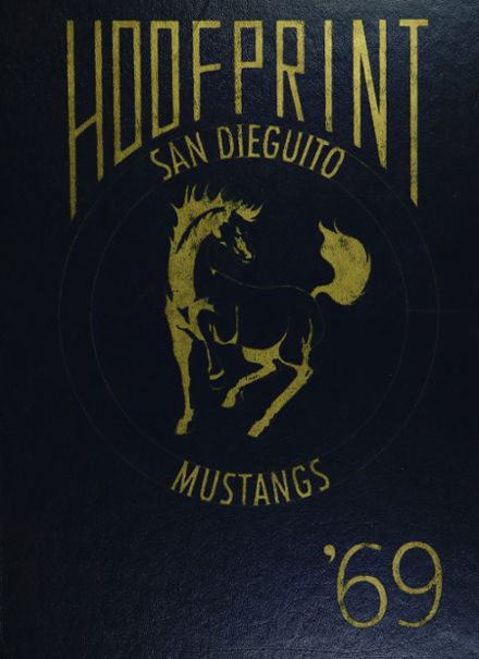1969 San Dieguito High School Yearbook Cover