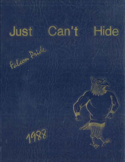1988 Carl Hayden High School Yearbook Cover