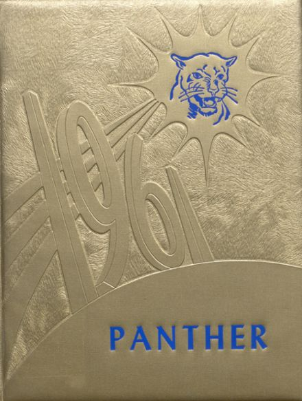 1961 Jal High School Yearbook Cover