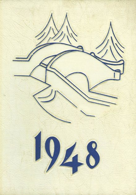 1948 Montclair High School Yearbook Cover