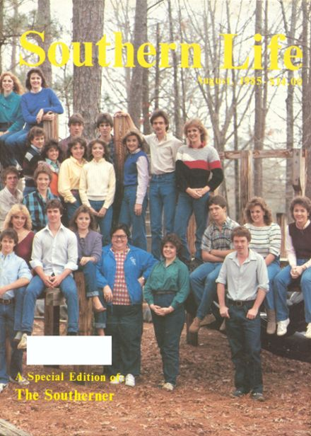 1985 Southern Academy Yearbook Cover