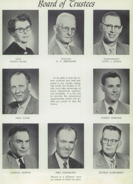 1958 Weiser High School Yearbook Page 7