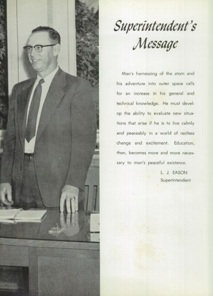 1958 Weiser High School Yearbook Page 8