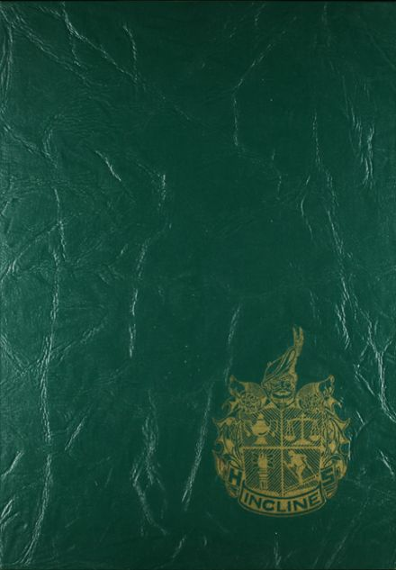 1969 Incline High School Yearbook Cover