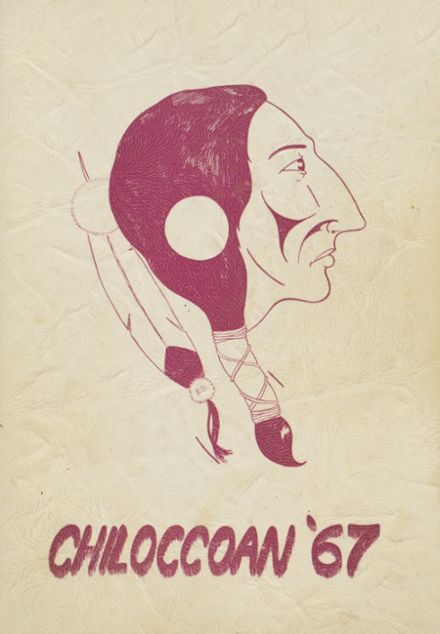 1967 Chilocco Indian School Yearbook Cover