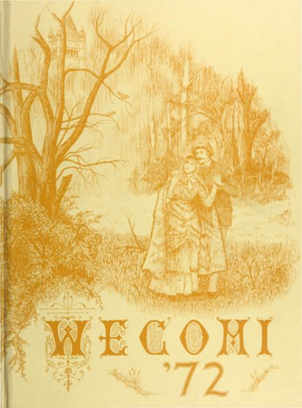 1972 Wheaton Community High School Yearbook Cover