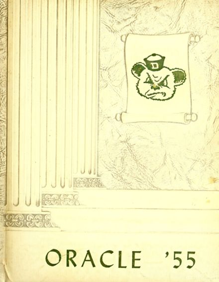 1955 Ossian High School Yearbook Cover