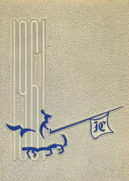 1961 Immaculate Conception High School Yearbook Cover