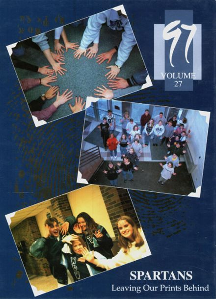 1997 West Bend High School Yearbook Cover