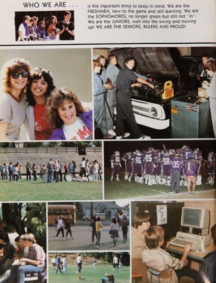 1986 Petaluma High School Yearbook Page 6