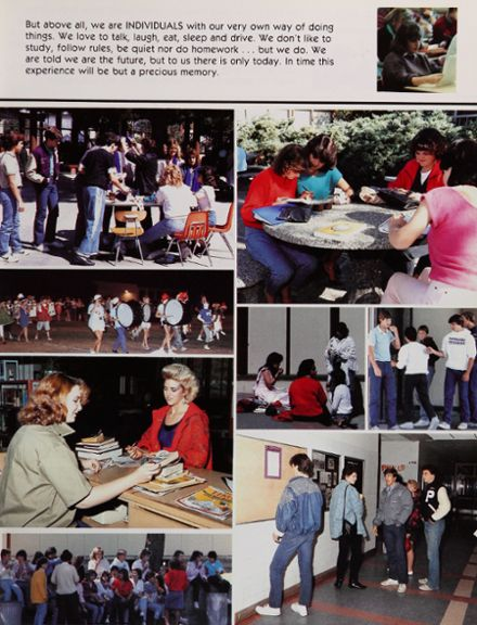 1986 Petaluma High School Yearbook Page 7