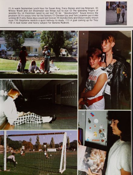 1986 Petaluma High School Yearbook Page 9