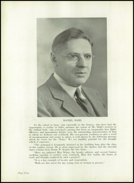1939 Passaic High School Yearbook Page 8