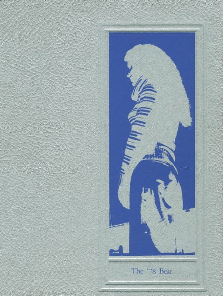 1978 Central Valley High School Yearbook Cover