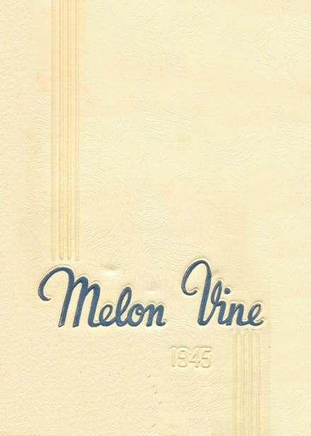 1945 Weatherford High School Yearbook Cover