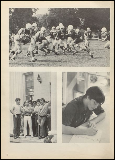 1971 Benjamin Franklin High School Yearbook Page 6