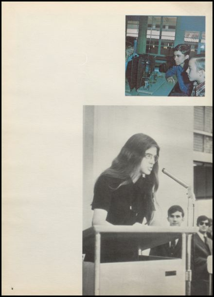 1971 Benjamin Franklin High School Yearbook Page 8