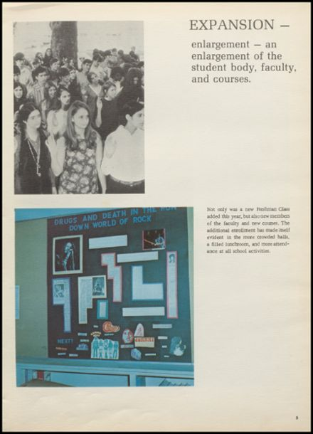 1971 Benjamin Franklin High School Yearbook Page 9
