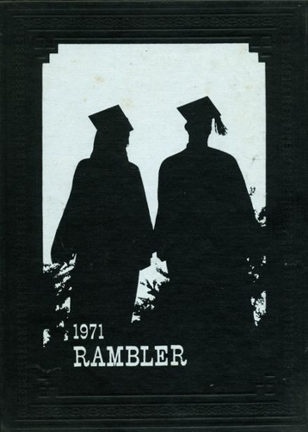 1971 Rattan High School Yearbook Cover