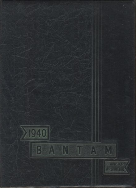 1940 Clarkston-Adams High School Yearbook Cover